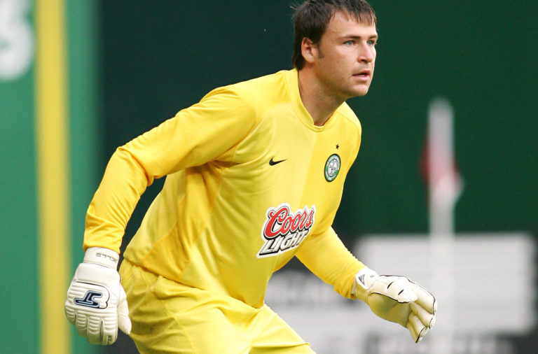 Former Celtic goalkeeper David Marshall