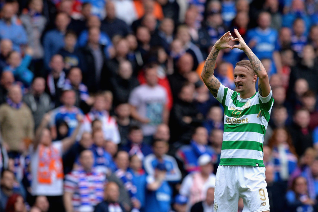 Griffiths has scored some important goals at Ibrox
