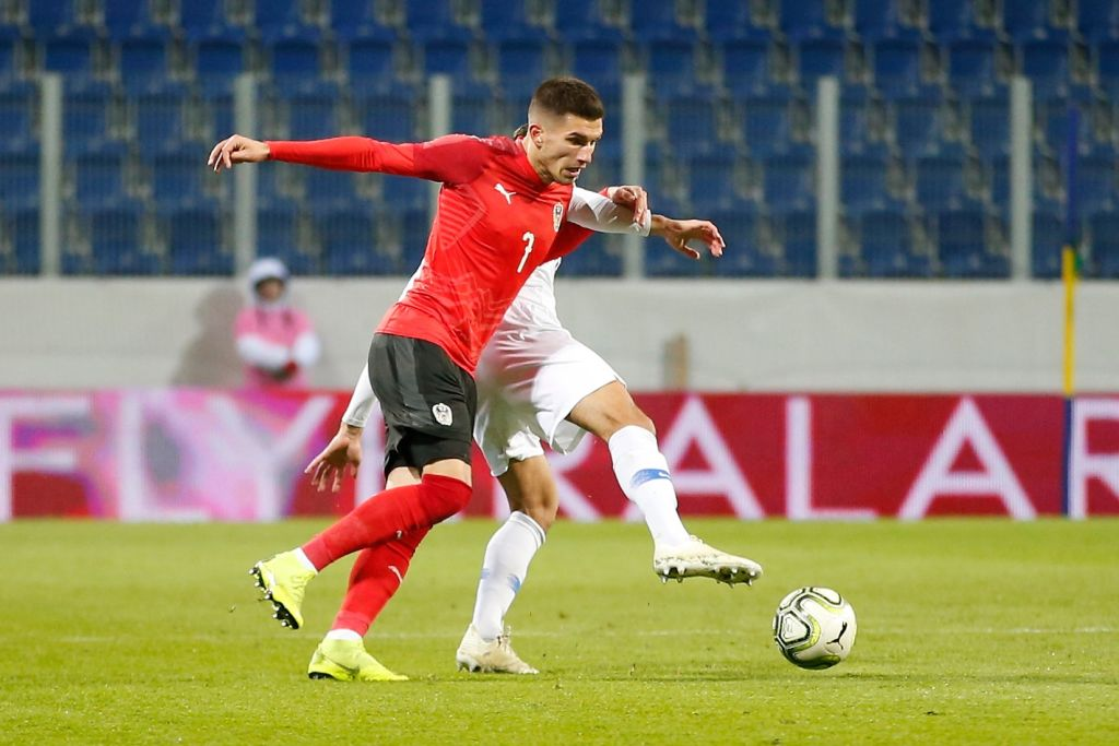 Austrian forward Adrian Grbic is said to be of interest to Celtic