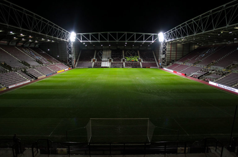 General view of Tynecastle