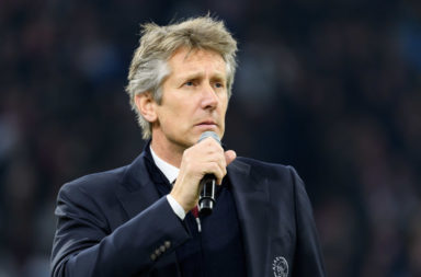 Ajax Chief Executive Edwin van der Sar