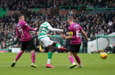 Odsonne Edouard scoring for Celtic
