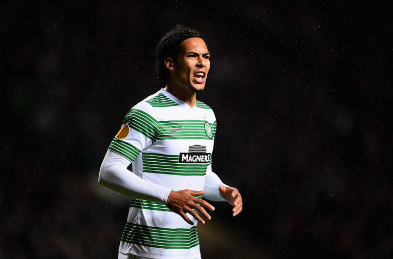 Former Celtic star Virgil van Dijk