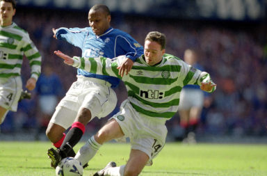 Paul Lambert in action for Celtic