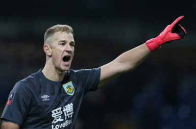 Free agent goalkeeper Joe Hart