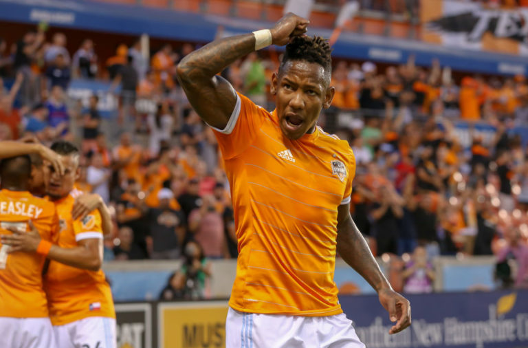Houston Dynamo's Alberth Elis
