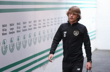 Celtic youngster Luca Connell