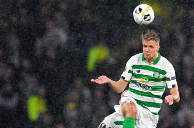 Ajer wins a header