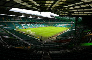 Celtic Park lying empty