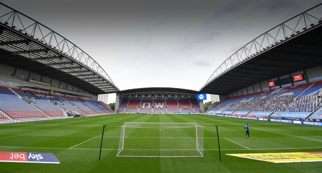Celtic are eyeing one of Wigan Athletic's teenage talents