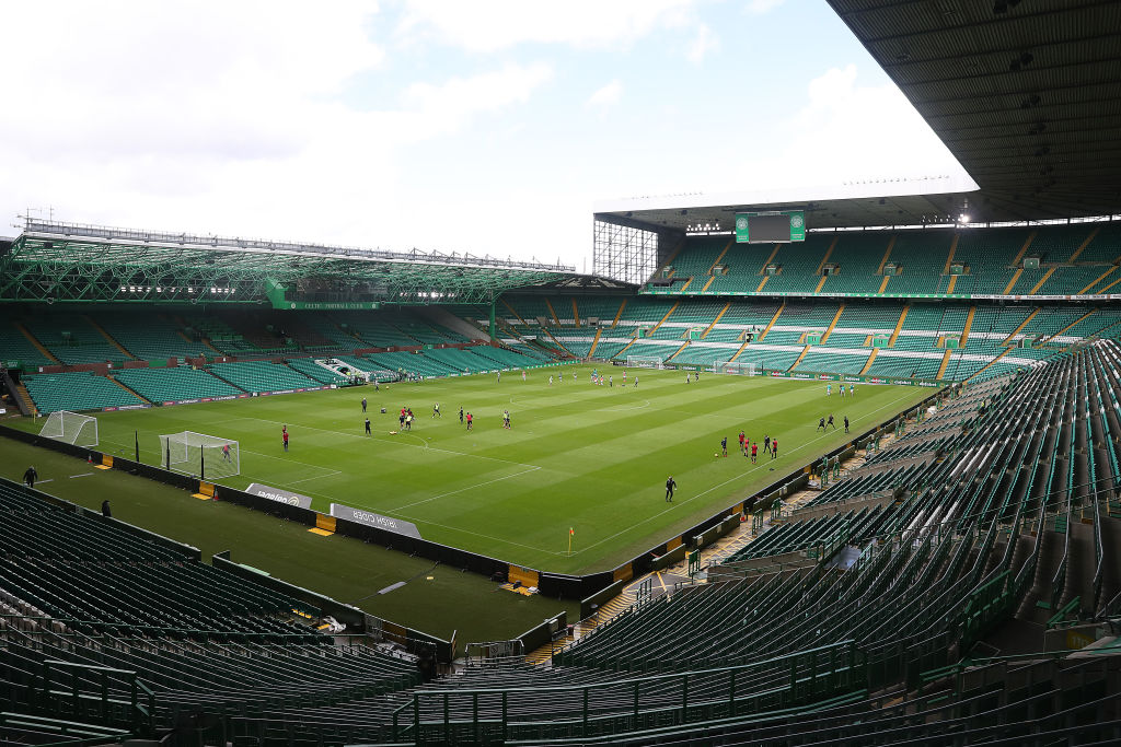 Celtic Park will be empty on Sunday