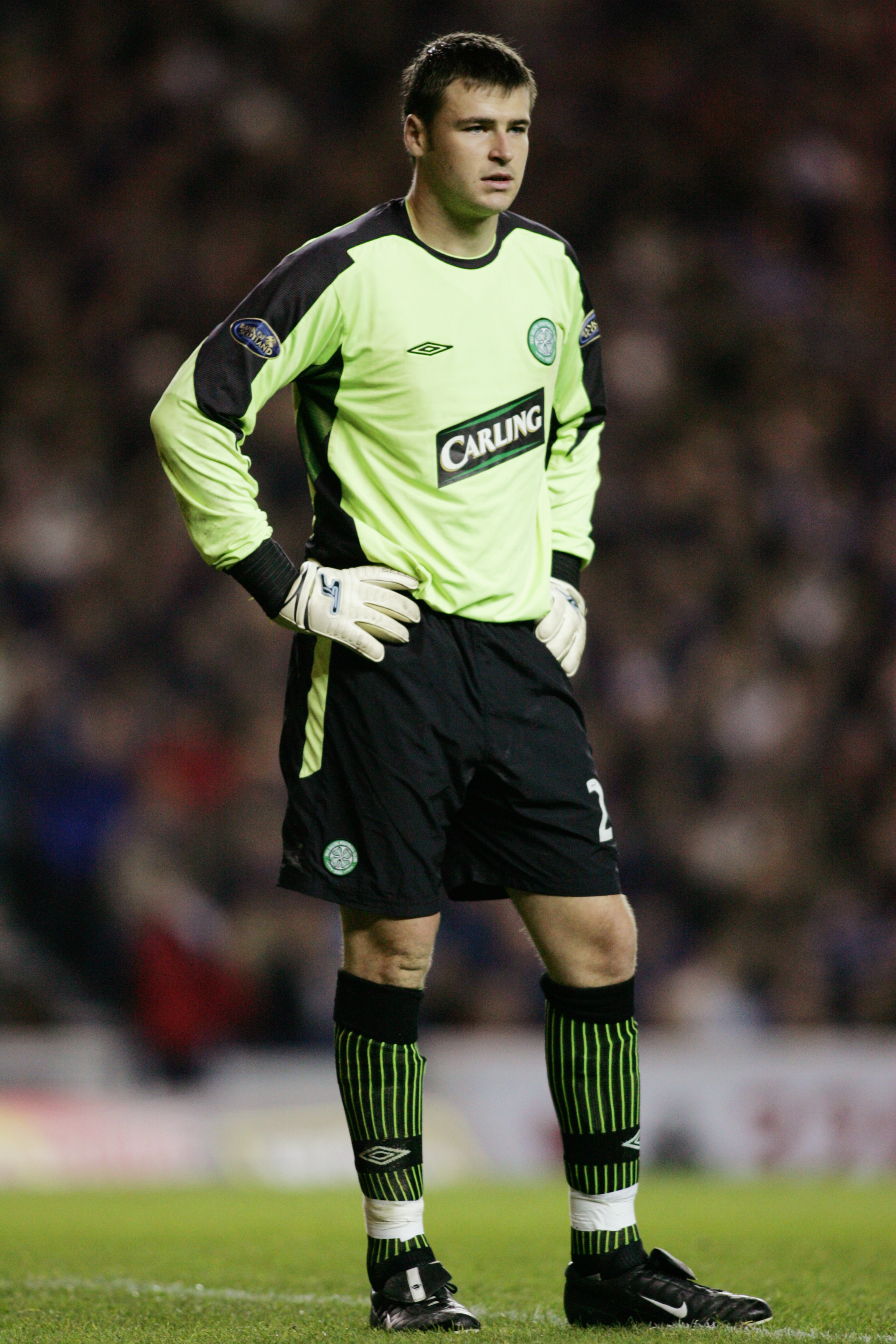 David Marshall in action for Celtic
