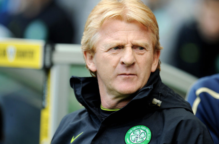 Former Celtic boss Gordon Strachan