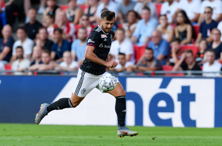 Incoming Celtic signing Albian Ajeti in action for Basel
