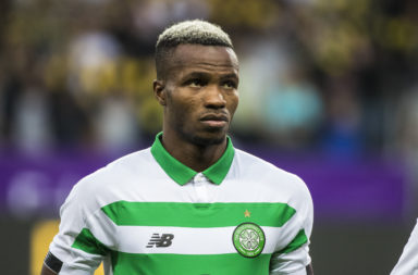Celtic defender Boli Bolingoli let his side down