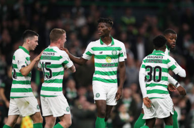 Vakoun Bayo left Celtic on loan