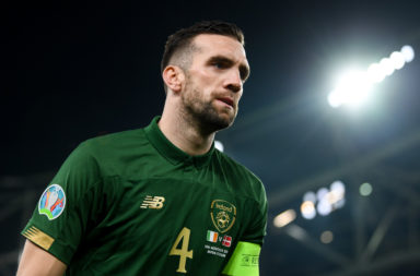 Reported Celtic target Shane Duffy