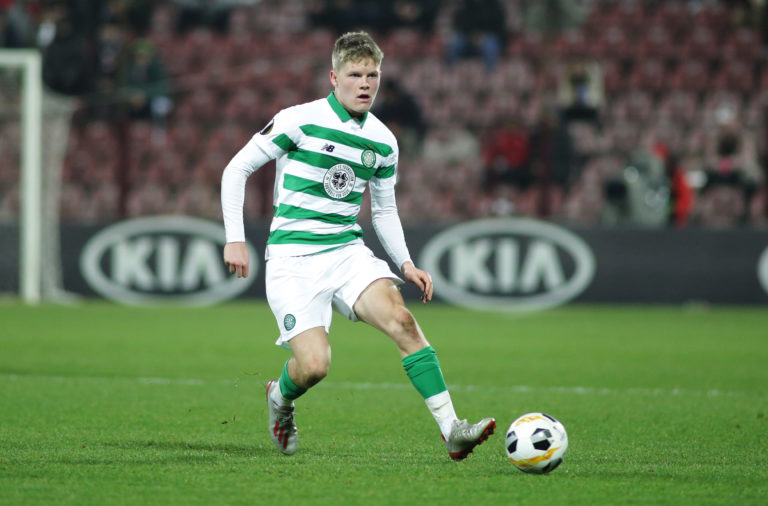 Scott Robertson in action vs Cluj