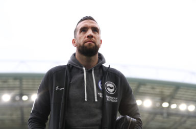 Brighton defender Shane Duffy