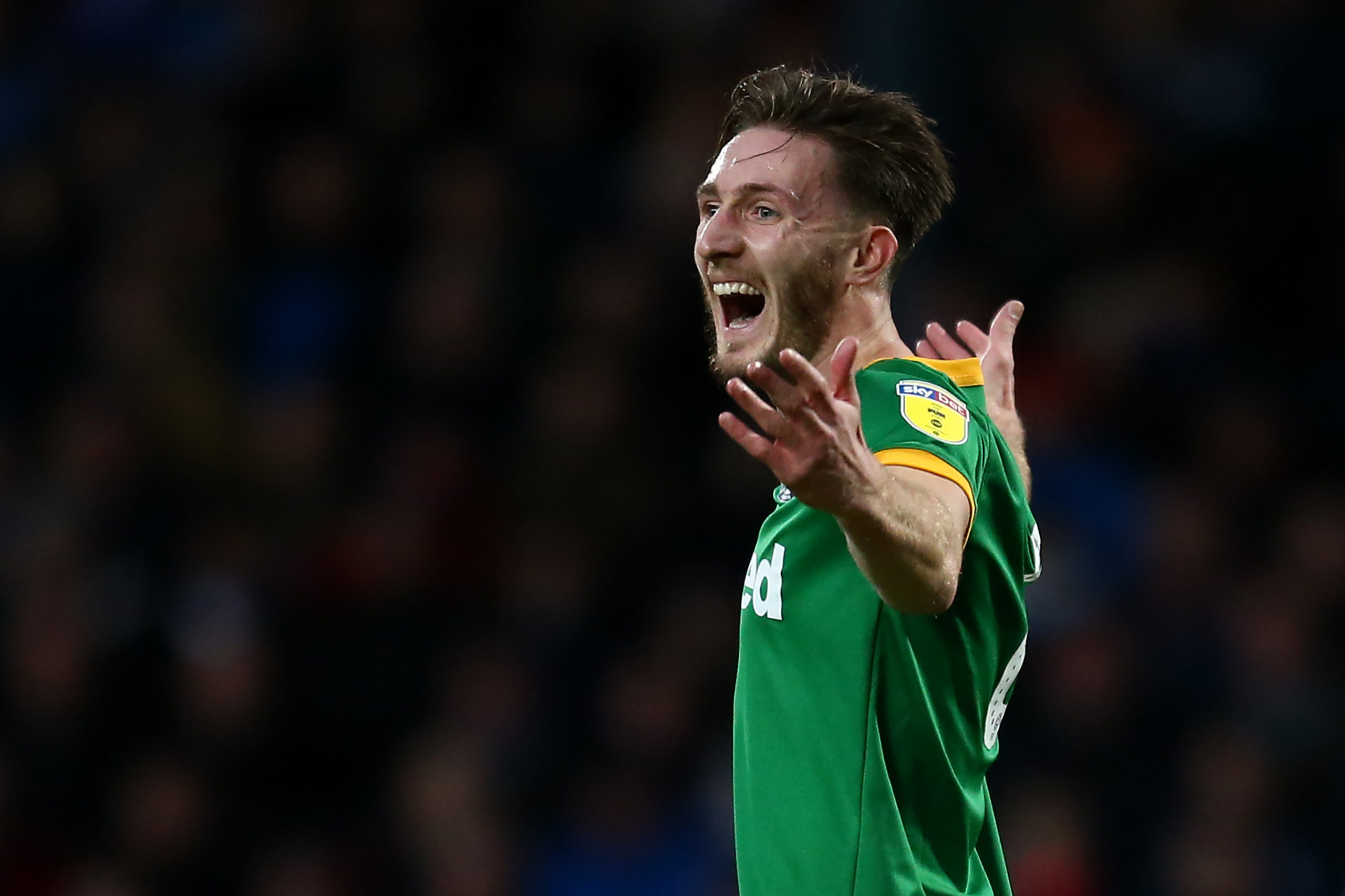 Preston North End's Celtic-linked Ben Davies