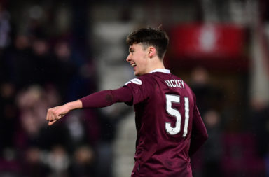 Reported Celtic target Aaron Hickey