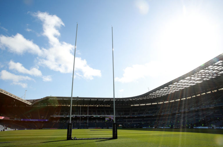 Murrayfield in the sun
