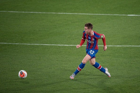 James McCarthy in action for Crystal Palace