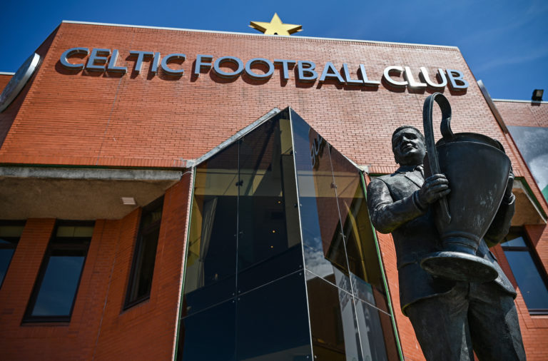 Celtic Park entrance
