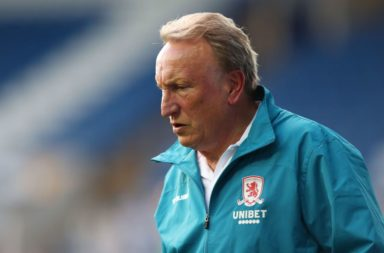 Current Middlesbrough boss Neil Warnock