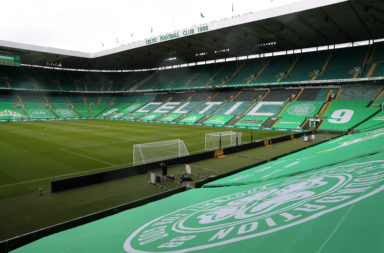 Celtic Park has been empty in recent months