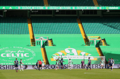 Celtic Park has been empty so far this season