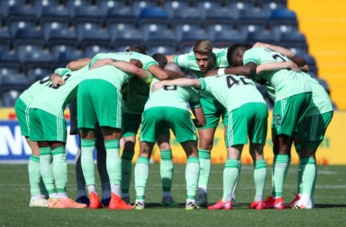 Celtic before today's match against Kilmarnock