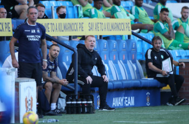 Neil Lennon at Rugby Park