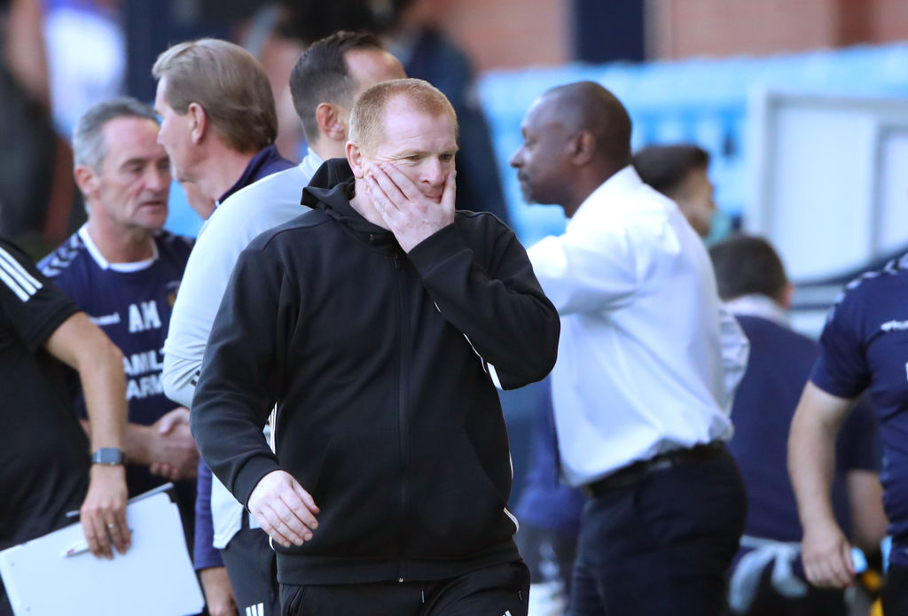 Neil Lennon after Kilmarnock draw