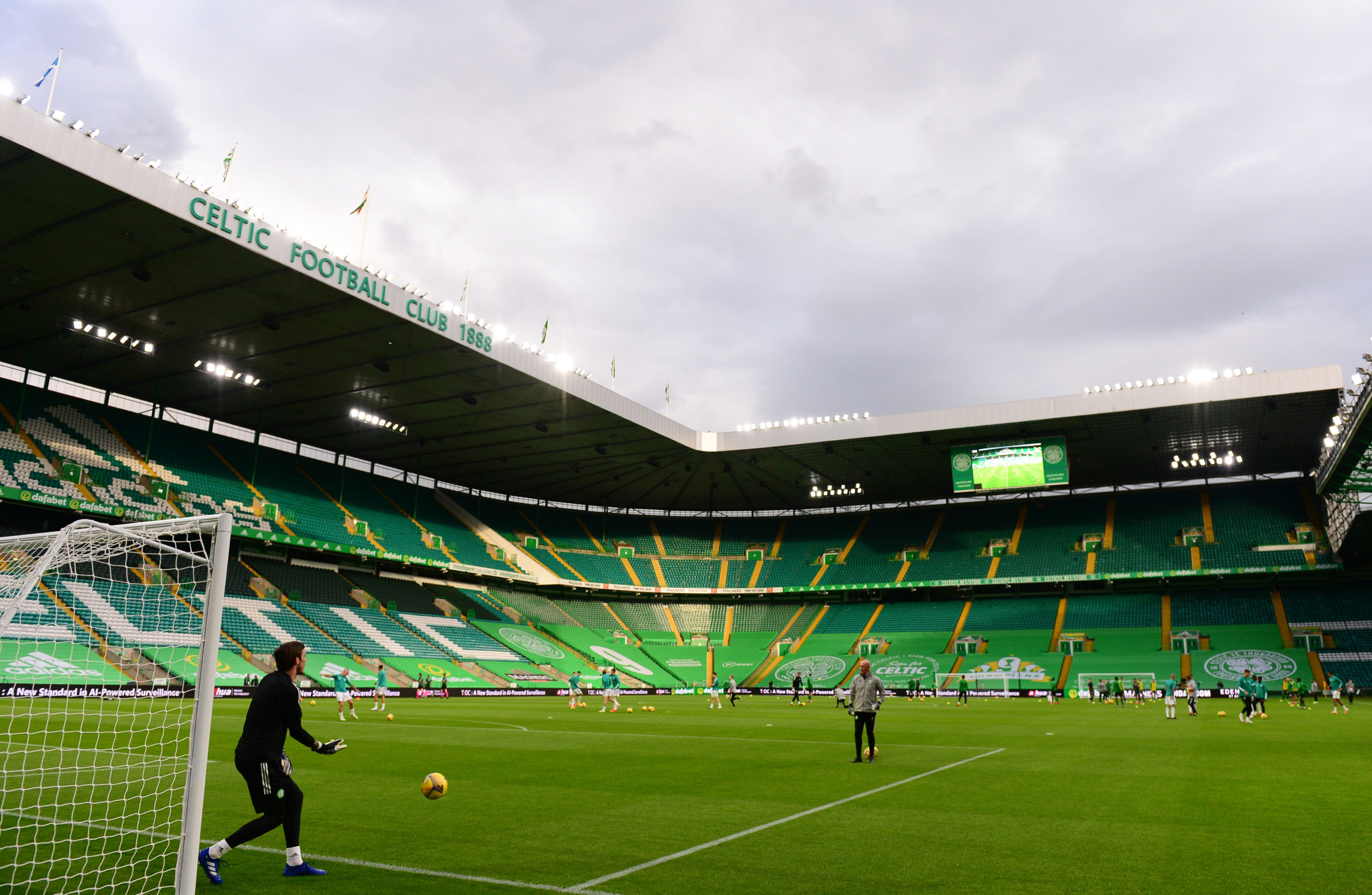 Celtic Park will be empty again on Sunday