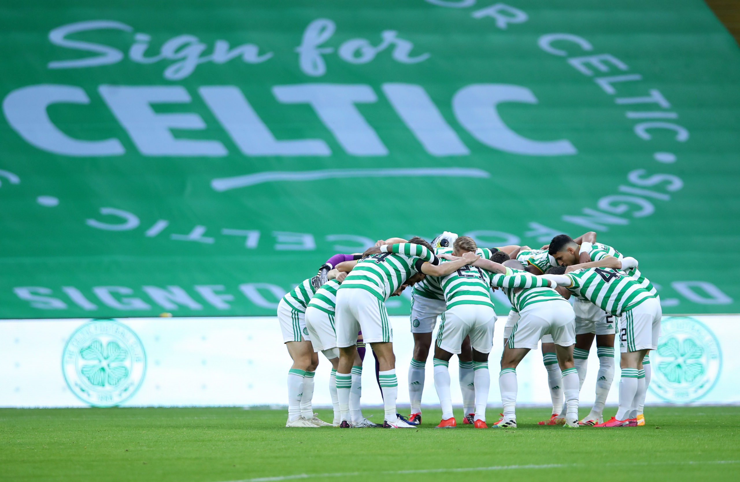 The Celtic huddle