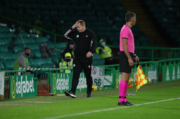 Neil Lennon's Celtic tumbled out of the Champions League against Ferencvaros