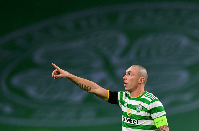 Scott Brown will need to lead Celtic forward