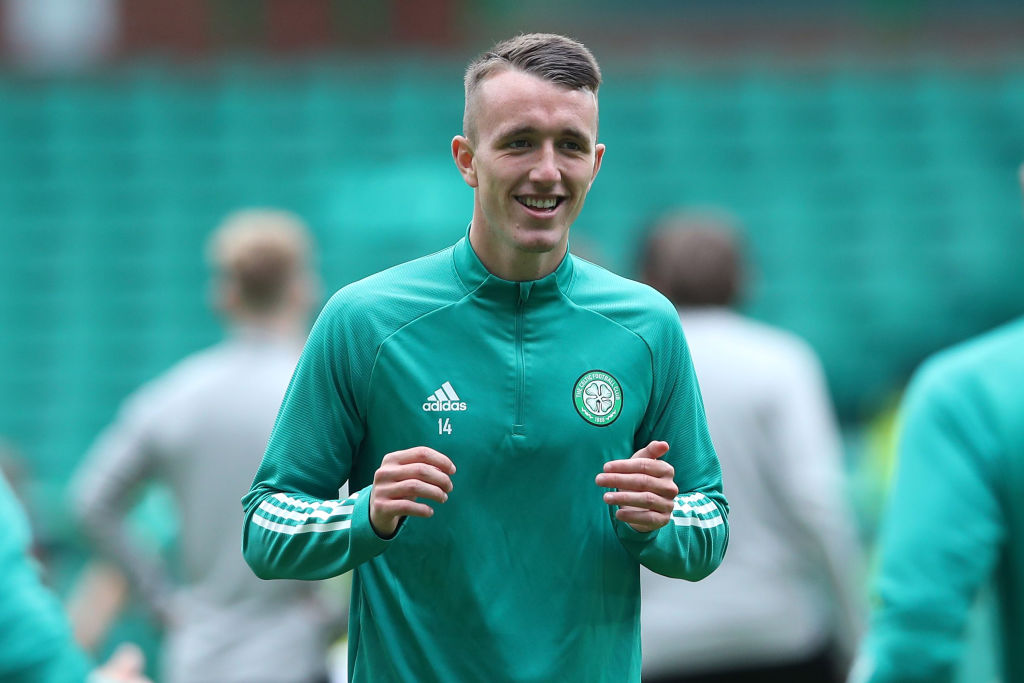 New Celtic signing David Turnbull