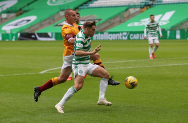 Celtic's James Forrest vs Motherwell