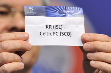 KR have been drawn to play Celtic before, back in 2014