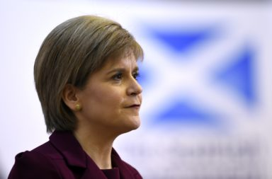 Nicola Sturgeon won't rush capacity stadiums back