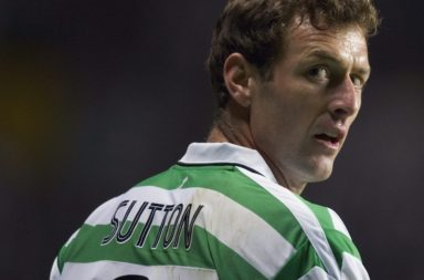 Chris Sutton in action for Celtic