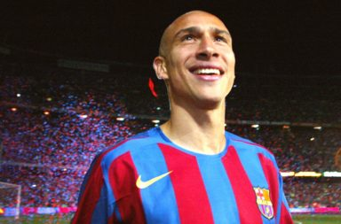 Larsson in his Barca playing days