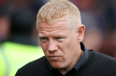 Livingston boss Gary Holt