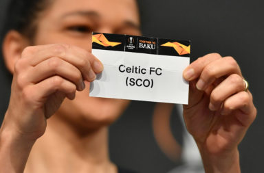 Celtic's name picked out of the hat