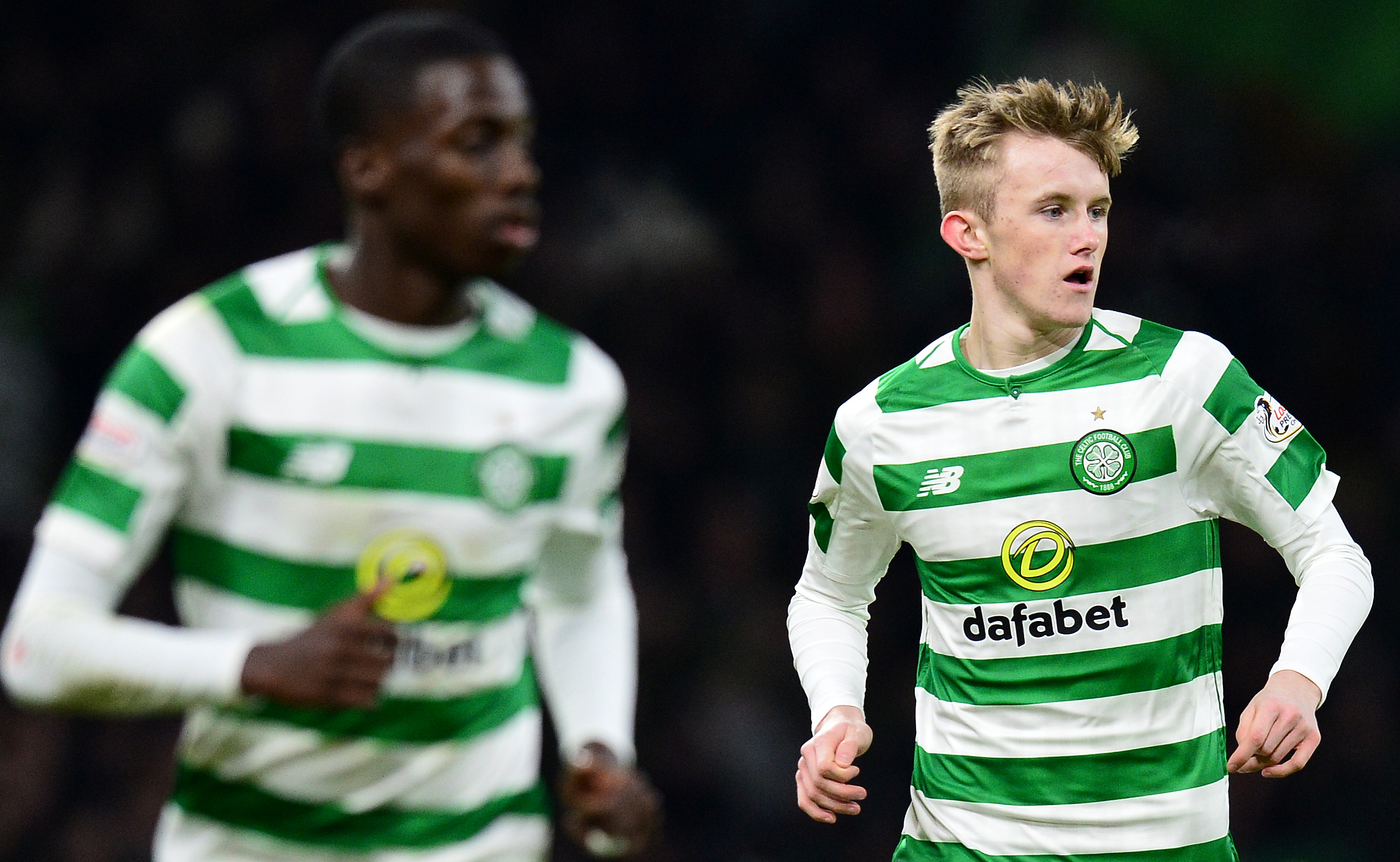 Celtic youngster Ewan Henderson