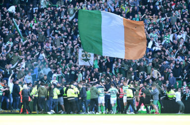 Celtic fans make some noise