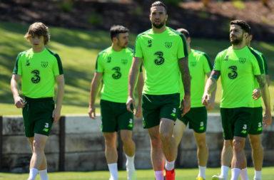 Connell and Duffy together for Ireland