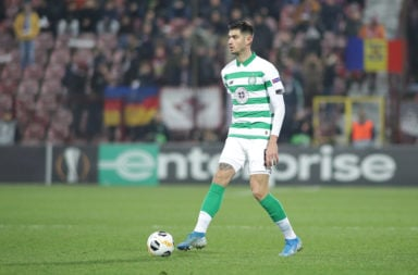 Celtic centre-back Nir Bitton